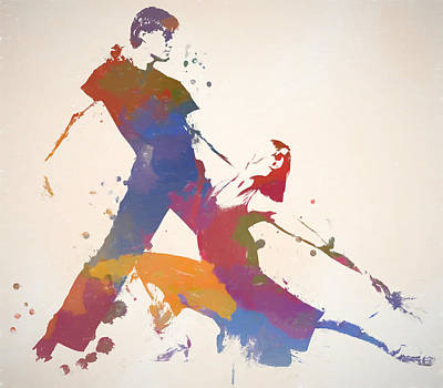 Painting - Dancing Couple by Dan Sproul