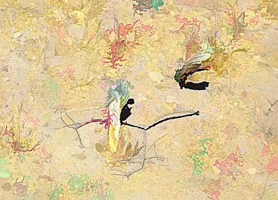 Digital Art - Dancing Desert Roots by Aliceann Carlton