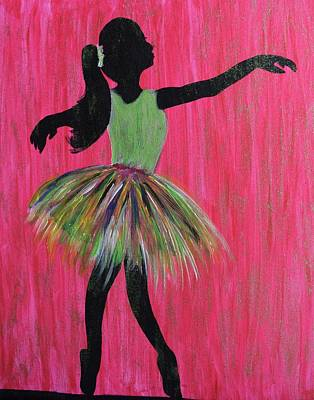 Painting - Dancing Doll 2 by Surbhi Grover