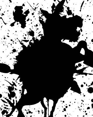 Donkey Digital Art - Dancing Donkey by Katrina Britt