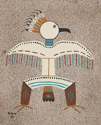 Painting - Dancing Eagle by Ralph Root