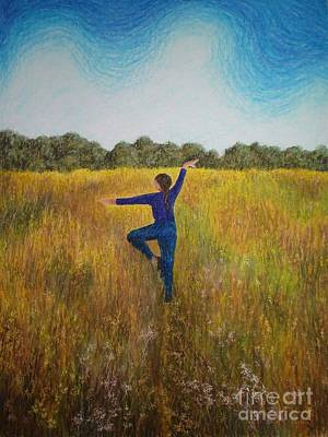 Painting - Dancing Field by Lisa Bliss Rush
