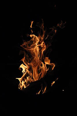 Photograph - Dancing Flames II by Beth Vincent
