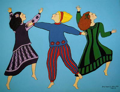 Painting - Dancing For Joy by Stephanie Moore