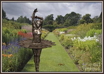 Statue Portrait Digital Art - Dancing Girl 9 by Pemaro