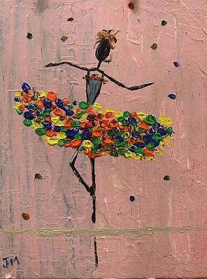 Painting - Dancing Girl by Jim McCullaugh