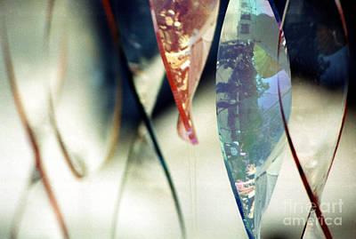 Dancing Glass Art Print