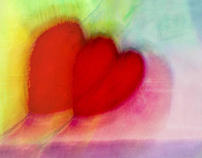 Painting - Dancing Hearts  by Susan Stone