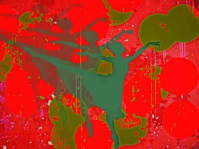 Digital Art - Dancing In A Dream by Richard Farrington