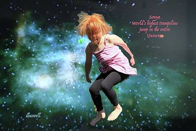 Photograph - Dancing In Space by Dennis Baswell