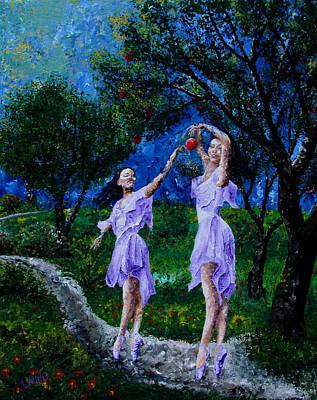 Dancing In The Garden Of Delights  Original by Aarron  Laidig