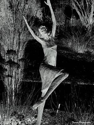 Photograph - Dancing In The Garden by Wesley Nesbitt