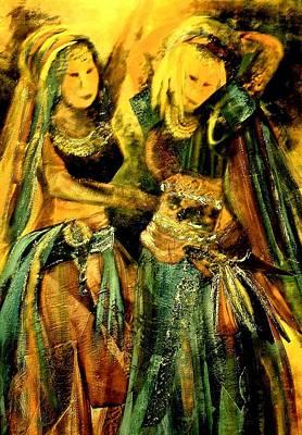 Dancing In The Harem Art Print