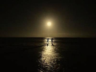 Exploramum Photograph - Dancing In The Moonlight In Yellow by Exploramum Exploramum