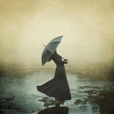 Photograph - Dancing In The Rain by Linda Kristiansen