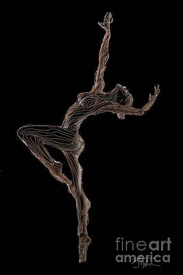 Digital Art - Dancing In The Spirit by Stefan Duncan