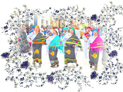 Photograph - Dancing In The Street by Al Bourassa