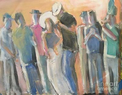 Painting - Dancing In The Streets Cuba by Mark Macko