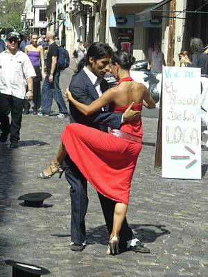 Photograph - Dancing In The Streets by Joe  Burns