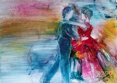 Painting - Dancing Into Eternity by Deborah Nell