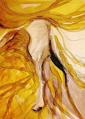Espanola Painting - Dancing Into The Sun by Jennifer Fosgate