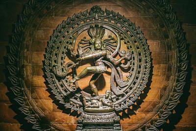 Worship God Mixed Media - Nataraja - Dancing Shiva by Yuka Ogava