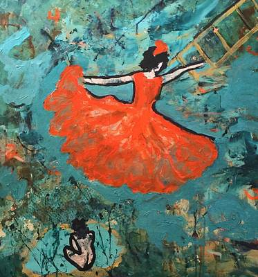 Dancing Lady Art Print by Annette McElhiney