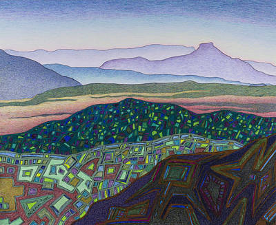 Dancing Light Of Northern New Mexico Original by Dale Beckman
