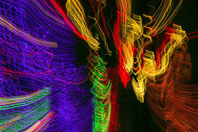 Photograph - Dancing Lights 3 by Penny Lisowski
