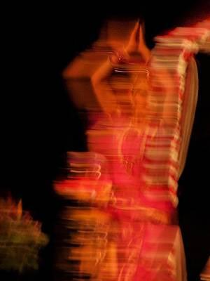 Dancing Mirage Art Print by Vijay Sharon Govender