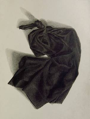 Drawing - Dancing Muslin by Grace Diehl