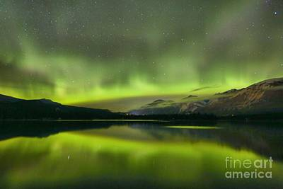 Photograph - Dancing Northern Lights by Adam Jewell