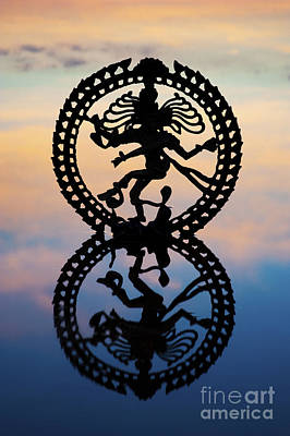 Shiva Photograph - Dancing On The Sea Of Samsara by Tim Gainey