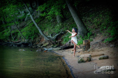 Photograph - Dancing On The Shore by Dan Friend