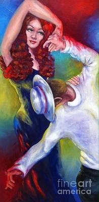Painting - Dancing Out Loud by Beverly Boulet