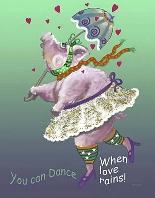 Dancing Pig Original by Shane Guinn