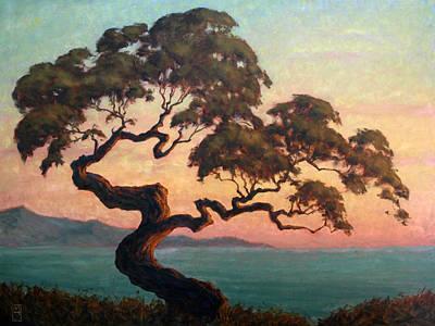Dancing Pine Print by Michael Orwick