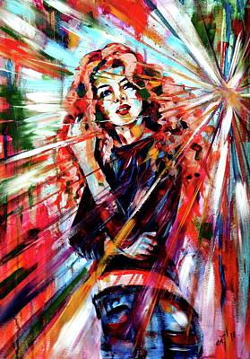 Painting - Dancing Queen by Kovacs Anna Brigitta