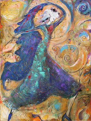 Painting - Dancing Queen by Lauren  Marems