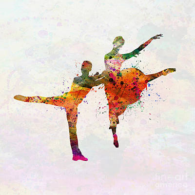 Ballroom Painting - Dancing Queen by Mark Ashkenazi