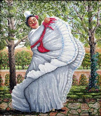 Dancing Queen Art Print by Santiago Chavez