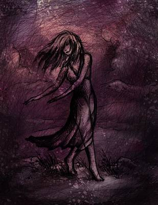Dancing Art Print by Rachel Christine Nowicki
