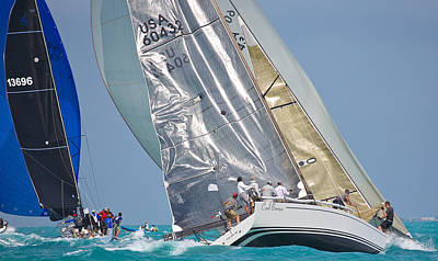 Photograph - Dancing Sails by Steven Lapkin
