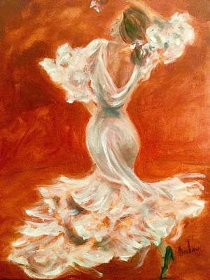 Painting - Dancing Senorita by Anne Barberi