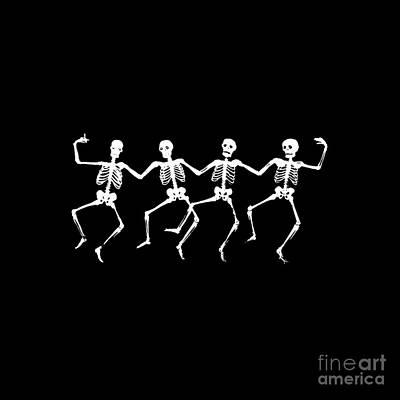 Dancing Skeletons Original