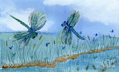 Dancing Skies Art Print