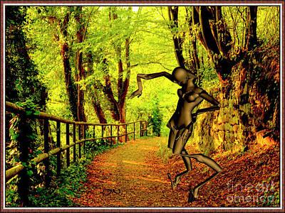 Dancing Spirit 13 Original by Pemaro