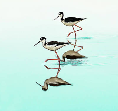 Dancing Stilts Art Print by Jennifer