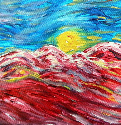 Painting - Dancing Sun by Amy Drago