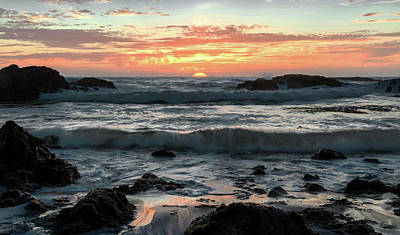 Photograph - Dancing Sunset  by Janet Kopper